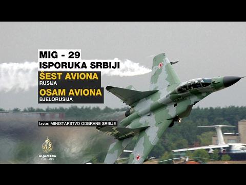 Srbija: Remont MIG-ova koštat će 185 miliona eura