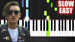 gnash i hate u i love u ft olivia o brien slow easy piano tutorial by plutax