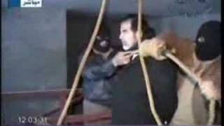 Executed Saddam Hussein by hanging