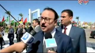 أخبار اليوم | وزير الاتصالات أصدرنا طابع بريد يؤرخ مرور 150 سنة علي البرلمان المصري