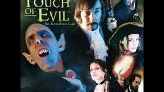 A Touch Of Evil: le Vampire: Présentation et quelques points de règle
