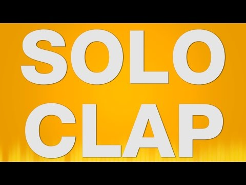 Solo Clap SOUND EFFECT  Solo Clapping Klatschen One Hand SOUNDS