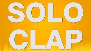 Solo Clap SOUND EFFECT - Solo Clapping Klatschen One Hand SOUNDS