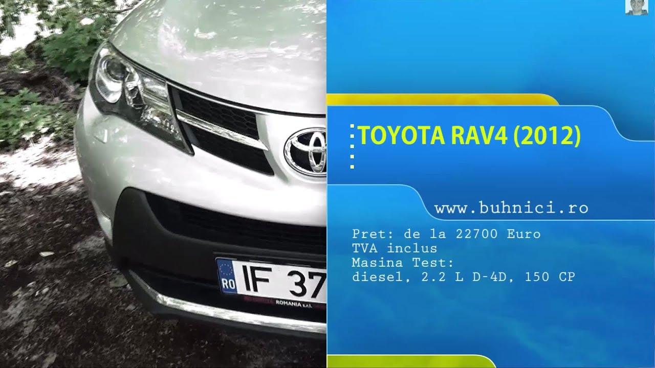 Toyota RAV4 2012 (www.buhnici.ro)