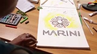 THE MAKING OF THE NEW MARINI NATURALS LOGO