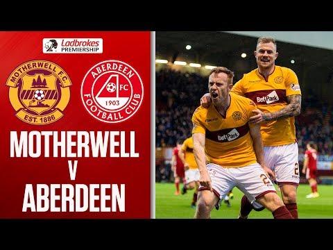 Motherwell 3-0 Aberdeen | Johnson Double sees off Aberdeen! | Ladbrokes Premiership