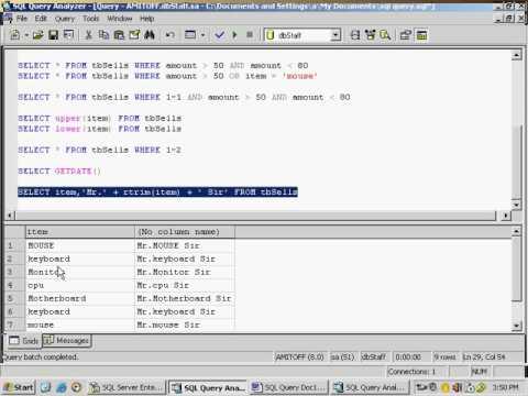 118 SQL Query C
