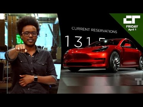 Tesla Unveils Car for the Masses  | Crunch Report