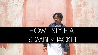 how i style bomber jacket men s women s fashion ft aleks gamzin look 1