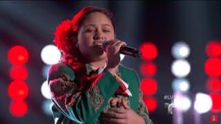 La Voz Kids | Brianna Arteaga canta 'Palomita de Ojos Negros' en La Voz Kids Video