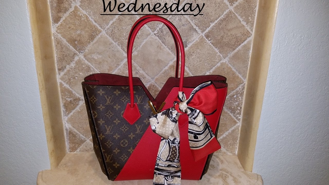 900ca1dd42b3d WHAT S IN MY BAG WEDNESDAY Louis Vuitton KIMONO - YouTube