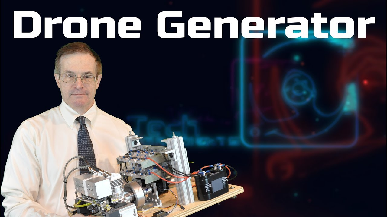 Designing Compact Gasoline Generator Prototype For Drone Use