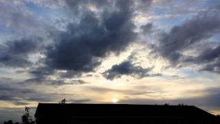 07 July 2014 - Chem-haze & NEXRAD Cloud Sunset Time-lapse