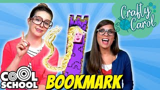 Rapunzel Bookmark Craft | A Cool School Kids Craft with Crafty Carol & Ms. Booksy