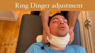 Ring Dinger ® for NYC neck pain patient