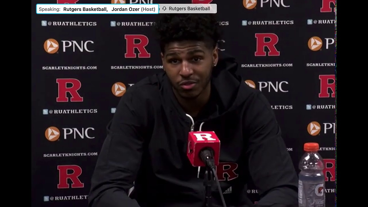 RHoops players react to Wisconsin loss -- Rutgers Scarlet Knights