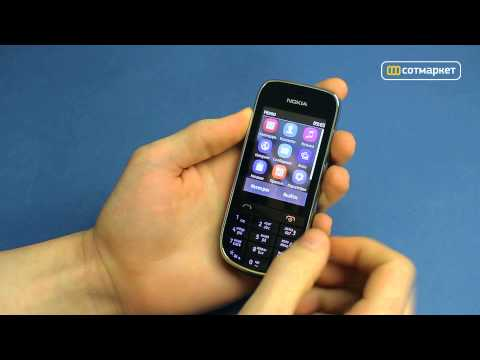 Видео обзор Nokia Asha 203 от Сотмаркета