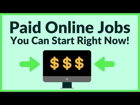 Easy Paid Online Jobs You Can Start Right Now With No Experience