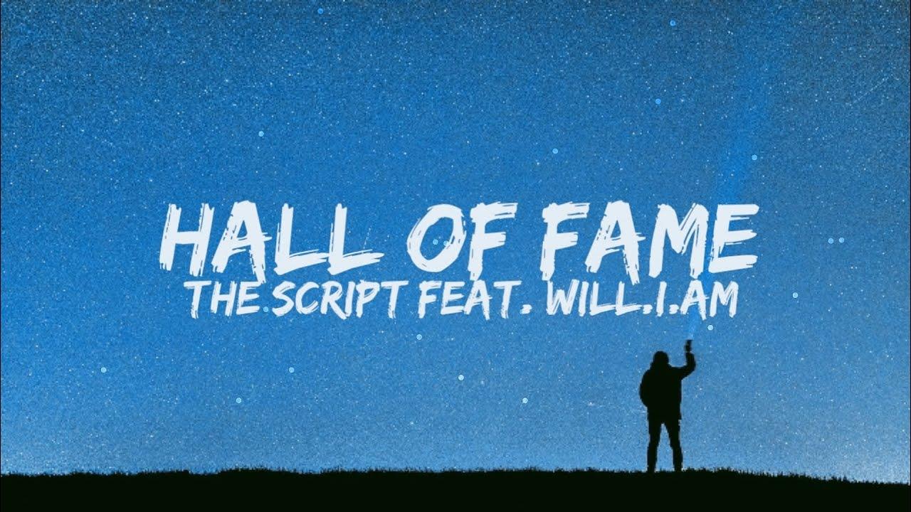 The Script Hall Of Fame Lyrics Youtube