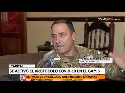 Se Activó El Protocolo COVID 19 En El GAM 5 | Somos Jujuy