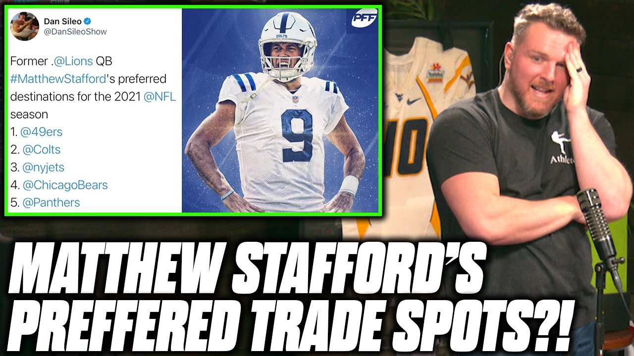 NFL players react to stunning Matthew Stafford-Jared Goff trade