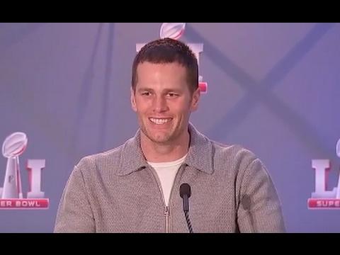 Tom Brady Super Bowl 51 Victory Press Conference (FULL) | ABC News