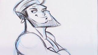 How to Draw a Genie - Step by Step