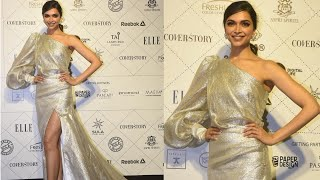Deepika Padukone Pretty Pre Wedding Glow at Elle Beauty Awards 2018