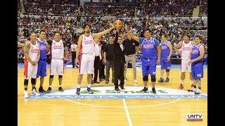 P3-M, ibinigay ng UNTV para sa PBA Legends Foundation sa