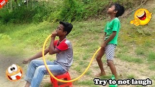 Top New Comedy Video 2020_Must Watch New Funny Video 2020_Try To Not Laugh_Episode-131_By hahaidea