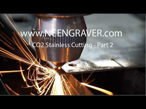 Ncengravers.com - Co2 Lasers - Part 2 - Co2 Laser Cutting Machine