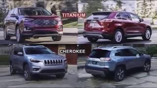 2019 Edge Titanium VS 2019 Jeep Cherokee | CAR NOW