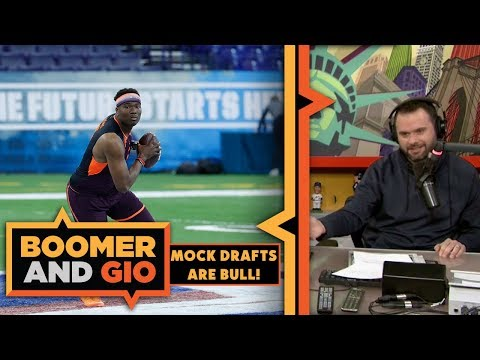 Gio- Mock Drafts are BULL   Boomer and Gio
