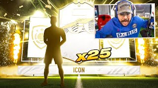 ICON IN A FREE PACK!! 25 ICON PACKS!! FIFA 21