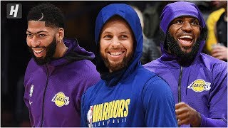 Golden State Warriors vs Los Angeles Lakers - Full Game Highlights | October 14, 2019 NBA Preseason