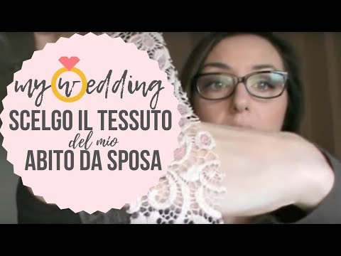 Tessuti in pizzo per abiti da sposa