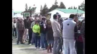 funcionarios de aduana de las cinco fronteras de la región realizaron paro de advertencia