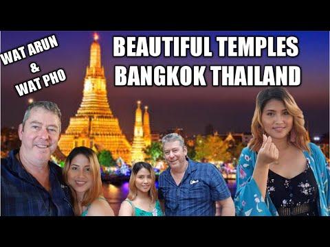Vlog#14/Beautiful Temple in Bangkok Wat Arun and Wat Pho  Filipina Diary