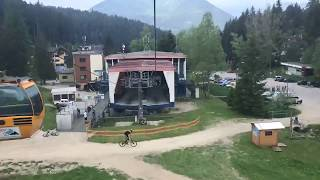 Ride on cableway // time lapse // Malino Brdo