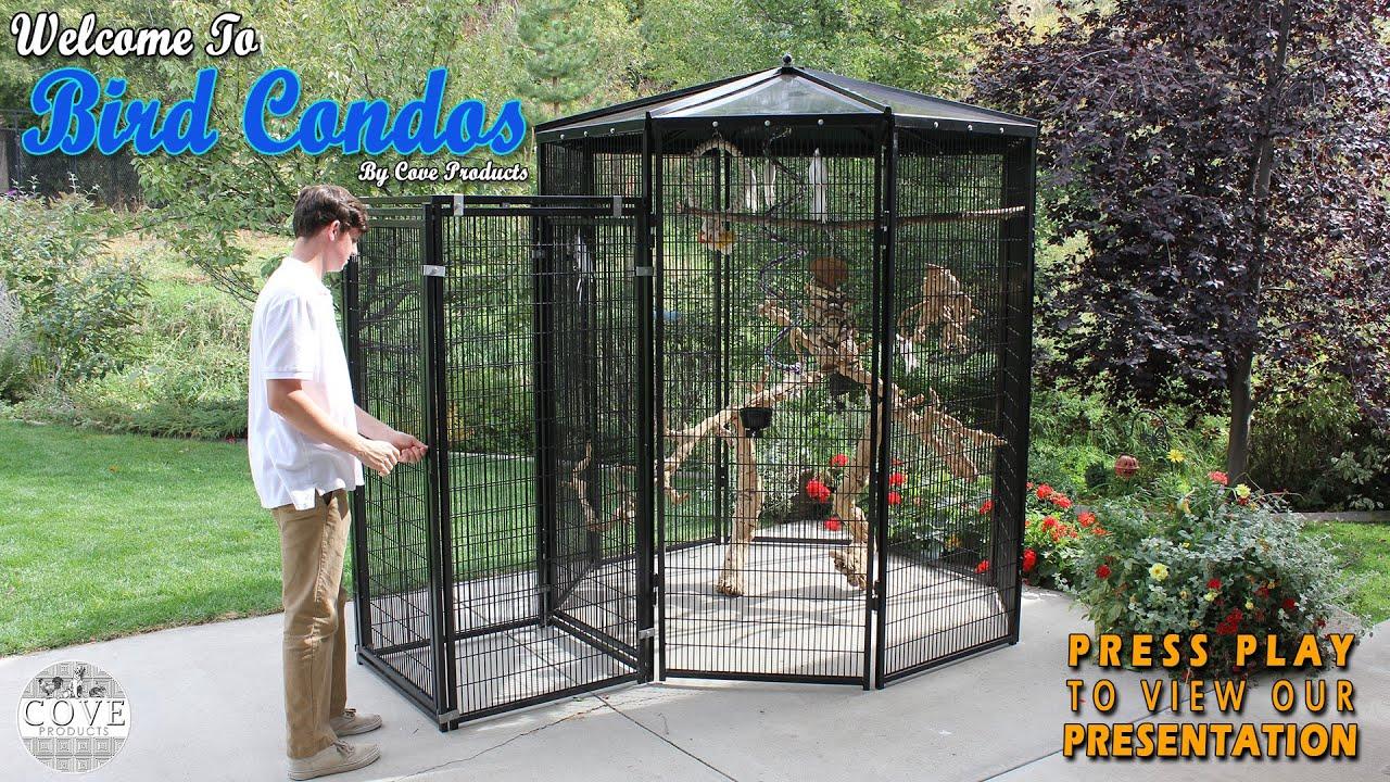 Walk In Bird Aviary Funnydog Tv