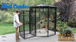 Walk In Bird Aviary