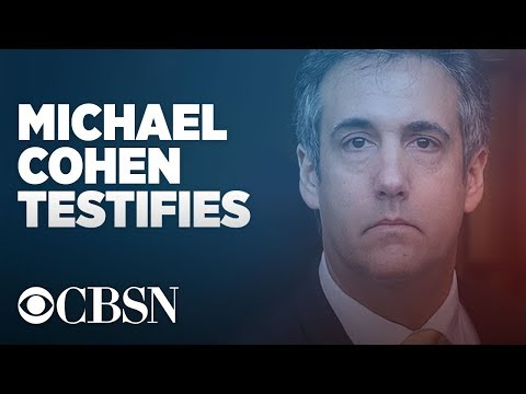 Michael Cohen Testimony live before the House Oversight Committee