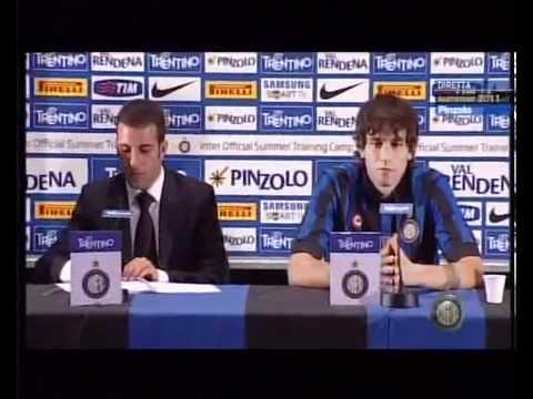 Presentación de Ricky Álvarez en el Inter de Milán