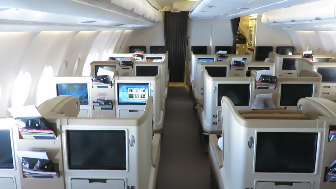 Singapore Airlines A330 Business Class Singapore to Ho Chi ...