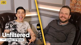 Russell Kane interview on stand-up comedy & relationships | Unfiltered with James O'Brien #26