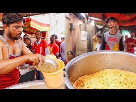 Super Craze for Bucket Biryani | Chennai Thalappakatti Biryani in Guntur | Mad Rush for Biryani