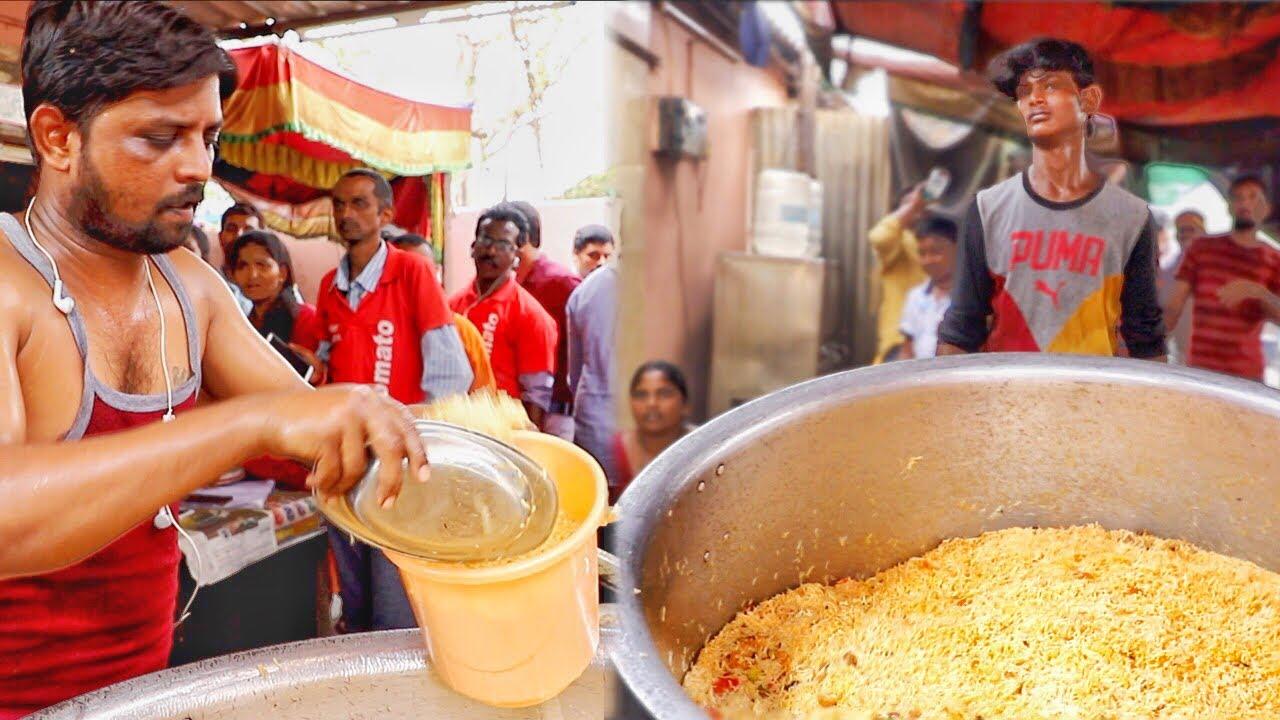 Super Craze for Bucket Biryani | Chennai Thalappakatti Biryani in Guntur | Mad Rush for Biryani