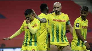 St Etienne vs Nantes All goals and highlights 03 02 2021 France Ligue 1 League One PES