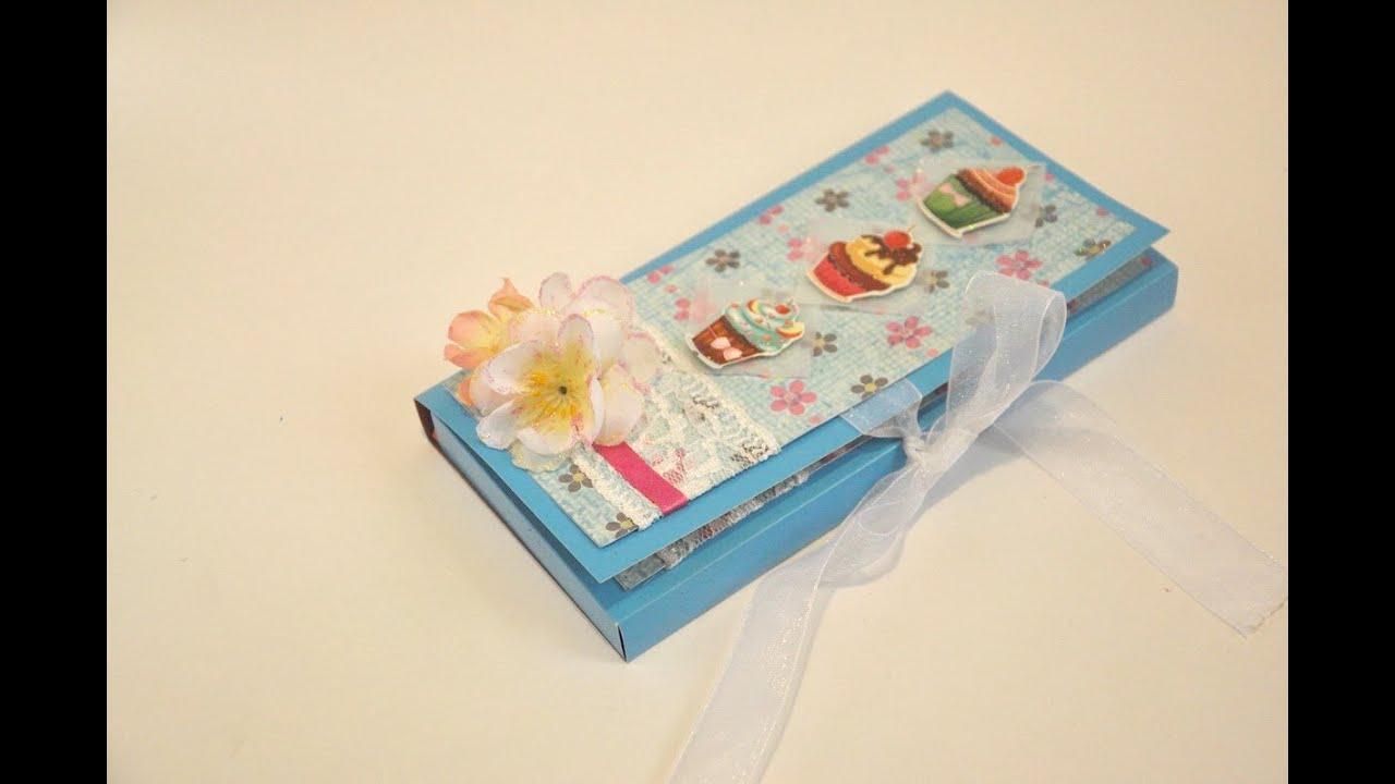 Коробка для шоколада своими руками