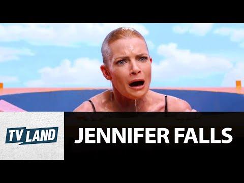 Jennifer Falls: Dunk Tank with Jaime Pressly & Jessica Walter | TV Land